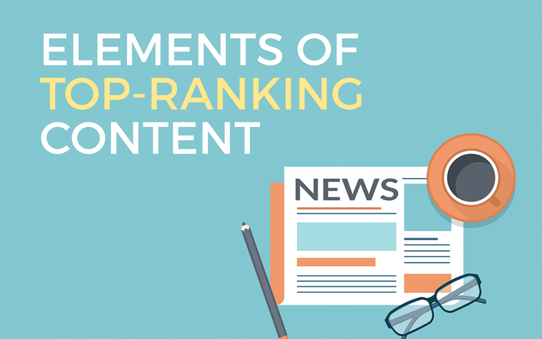 Elements of Top-Ranking SEO Content